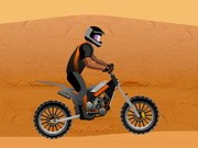 Dirt Bike: Sahara-Challenge Game