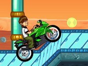 Ben 10 Bike Remix - Bike Games - Car Games