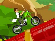 Ben 10 Trail Ride - Bike Games - Car Games