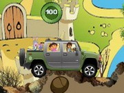 Dora And Friends Offroad - auto race spelletjes - auto spelletjes