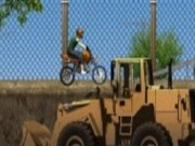 Construction Yard Bike - Bike Games - Car Games