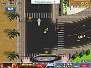 California Pizza Delivery - Car Parking Games - Car Games