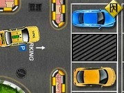 Yellow Cab Taxi Parking - jeux de parking - jeux de voiture