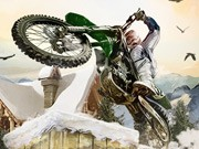 Winter Bike Stunts - cykel spel - bil spel