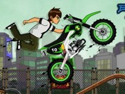 Ben 10 Extreme Stunts - Bike Games - Car Games