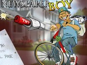 Newspaper Boy - Bike Games - Car Games