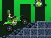 Ben 10 Power Motobike - Bike Games - Car Games