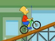 The Simpsons Bmx - cykel spel - bil spel