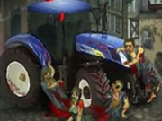 Zombie Tractor - game balap mobil - mobil game