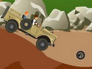 Ben 10 Jeep - Car Racing Games - Car Games