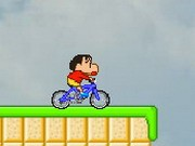 Bike Rider Shin Chan 2 - Bike Games - Car Games