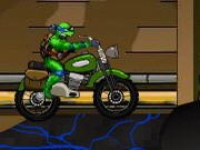 Turtles Bike Adventure - Bike Games - Car Games