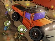 Zombie Destroyer Rush - game balap mobil - mobil game