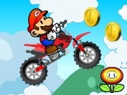 Mario Acrobatic Bike - Bike Games - Car Games