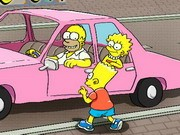 The Simpsons Game Parkering - bil parkering spel - bil spel