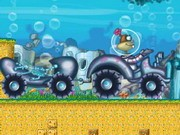 Spongebob Tractor - game balap mobil - mobil game