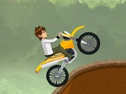 Ben 10 Stunt Ride - Bike Games - Car Games