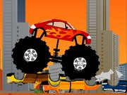 Monster Truck Destroyer - Auto-Rennspiele - Auto-Spiele