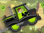 Ben 10 Xtreme Truck - Car Racing Games - Car Games