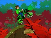 Ben 10 Space Bike - Bike Games - Car Games