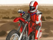 Sahara Biker - Bike Games - Car Games