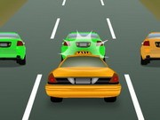 Taxi Rush - game balap mobil - mobil game