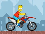Bart On Bike 2 - Bike Games - Car Games