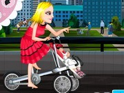 Baby Stroller Bike - Bike Games - Car Games