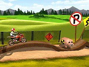 Angry Biker - Bike Games - Car Games