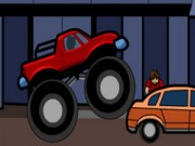 Monster Truck Curfew - auto race spelletjes - auto spelletjes