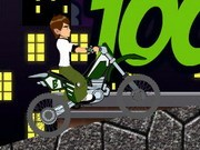 Ben10 Bike Trip 2 - Bike Games - Car Games