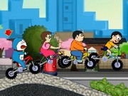 Doraemons Racing - Bike Games - Car Games