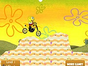 SpongeBob Bike - Bike Games - Car Games