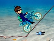 Ben 10 Motocross Under The Sea - Bike Games - Car Games