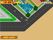 Bike Messenger Parking - Bike Games - Car Games
