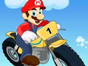 Mario Hard Bike - Bike Games - Car Games