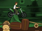 Ben10 Bike Riding - Bike Games - Car Games