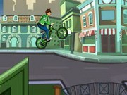 Ben 10 Super Stunt Bmx - Bike Games - Car Games