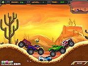 Crazy Monster Truck - auto race spelletjes - auto spelletjes