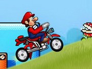 Super Mario Speed Bike - Bike Games - Car Games