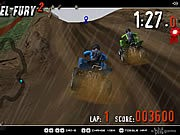 4 Wheel Fury 2 - game balap mobil - mobil game