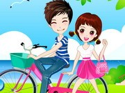 Romantic Bike Lovers - Bike Games - Car Games