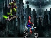 Spiderman Rush 2 - Bike Games - Car Games