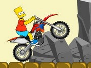 Bart Simpsons Bike - Bike Games - Car Games