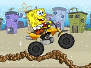 Spongebob Snow Motorbike - Bike Games - Car Games