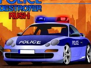 Polisi Destroyer Rush - game parkir mobil - mobil game